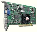 VGA card ATI Radeon 8500LE, 128MB, AGP 2X/4X, RCA/S-Video, p/n: 109-82800-00, OEM (видеоадаптер)