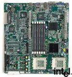 Intel Serverboard SCB2 Dual CPU S370 motherboard, up to 6GB ECC SDRAM, 133MHz FSB, ATX, 8MB VGA, Adaptec AIC-7899 Ultra160 SCSI card, Dual Intel PRO/100 LAN, OEM (системная плата)