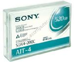 Streamer data cartridge SONY SDX4-200C 200/520GB, AIT-4, 8mm, 246m, б.у. (картридж для стримера)