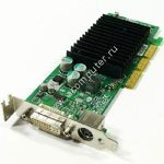 VGA card DELL/nVidia NV18, 64MB, DVI/TV Out, Low Profile (LP), AGP, p/n: G0772, OEM (видеоадаптер)