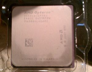 CPU AMD Opteron Model 846, 2.0GHz (2000MHz), 1MB (1024KB), Socket 940 PGA (940-pin), OSA846CEP5AV, OEM (процессор)
