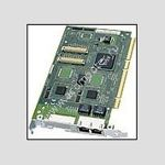 Network Ethernet card Compaq/Intel NC3134 Dual Port 10/100, 64-bit PCI-X, p/n: 161105-001, OEM (сетевой адаптер)