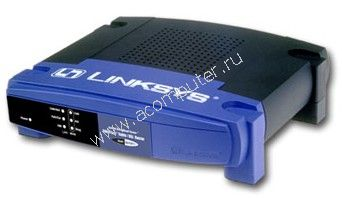 Linksys EtherFast Cable/DSL Router BEFSR11, no PS  (маршрутизатор)