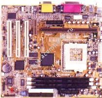 Motherboard Azza PT-810DMC i810, Dual CPU (Slot1 & Socket370) up to 1GHz, 3 x RAM slots, 3xPCI, onboard video, OEM (системная плата)