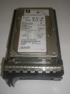 Hot swap HDD Seagate Cheetah ST336607LC, 36.7GB, 10K rpm, Ultra320 (U320) SCSI, 80-pin/w Dell tray, OEM (жесткий диск HotPlug)