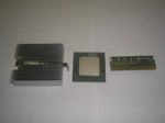 HP/Compaq 1.4GHz CPU Upgrade Kit Pentium PIII-S 1400/512/133, SL6BY (1400MHz)/w heatsink & VRM 225775-001, Tualatin, OEM (процессорный набор)