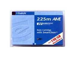 Exabyte Mammoth-2(M2) 150m AME type 40/100GB 8mm Data Cartridge with SmartClean, p/n: 00573 (картридж для стриммера)