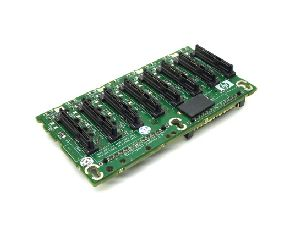 Hewlett-Packard (HP) Proliant DL380 8X1 SAS/SATA Backplane Board, p/n: 412736-001, 012531-501, OEM (плата расширения)