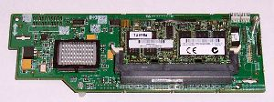 Hewlett-Packard (HP) Proliant BL20p G3 Smart Array 6i SCSI Controller, 128MB RAM & BBU, p/n: 371702-001, OEM (контроллер)