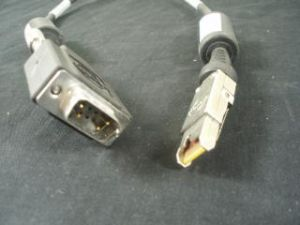 Network Appliance (NetApp) 9-pin to HSSDC2 Cable, p/n: 112-00031, OEM (кабель)