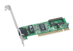 Network Ethernet card SMC 1244TX, 10/100, Low Profile (LP), PCI, OEM (сетевой адаптер)