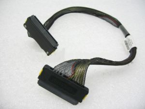 HP/Compaq 19inch 2-conn 4-Lane SAS/SATA Cable (3-awg/Ht-710) internal cable, p/n: 361316-009, 393275-001, OEM (кабель)
