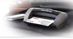 Corex CardScan Express 400 business card scanner/w manual, PS, paraller cable and CardScan software, OEM (сканер визиток)