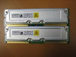 Kingston/Dell KTD-DM800E/256 Rambus ECC 512MB (2x256MB) RIMM RDRAM Memory Kit, PC800, OEM (модуль памяти)