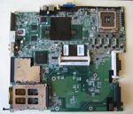 Hewlett-Packard (HP) motherboard DA0NT2MB6F6 rev:F x600 video chip for ZD8000, X6000, p/n: 374707-001, 7F0544, OEM (системная плата)