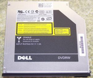 Dell DU-8A2S Ultra Slim DVD-RW Laptop Drive, DP/N: 0XX243, OEM (оптический дисковод)
