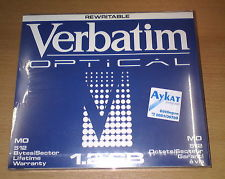 "MO disk Verbatim VBR5E2 1.2GB, 5.25"", 512 bytes/sector, rewritable (магнитооптический диск)"