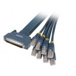Cisco Systems CAB-OCTAL-ASYNC= 8 Lead octal cable (68 pin to 8 Male RJ-45's), p/n: 72-0845-01, OEM (кабель соединительный)
