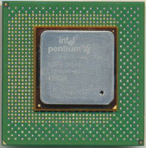 CPU Intel PIV 1.3GHz/256KB/400MHz, Socket 423, SL5FW, OEM (процессор)