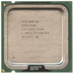 CPU Intel Pentium4 Hyper-Threading (HT) 3.00GHz/2MB/800/1.25-1.388V, LGA775, SL7Z9 (3000MHz), OEM (процессор)