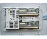 Hewlett-Packard (HP) Proliant DL380 G5/ML370 G5 8GB (2x4GB) DDR2 RAM FB-DIMMs Memory Kit, PC2-5300F, ECC, p/n: 398708-061, 397415-B21, OEM (комплект модулей памяти)
