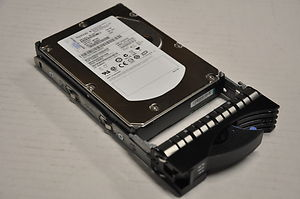 "Hot Swap HDD IBM HUS151414VLS300 146.8GB, 15K rpm, 3.5"", SAS/w tray, p/n: 26K5842, 40K1044, FRU: 39R7350, OEM (жесткий диск ""горячей замены"")"