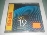"Kodak Rewritable Optical cartridge (MO disk), 1.2GB, 512 bytes per sector, 5.25"" (магнитооптический диск)"