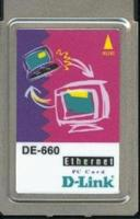 D-Link DE-660 10/100Base-TX PC Card (Ethernet Network adapter), PCMCIA, no cord  (сетевой адаптер)