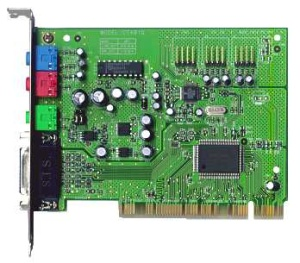 Sound card (sound blaster) Creative Labs CT4810, AudioPCI 128, PCI, OEM (звуковая плата)