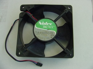 Nidec CPU Fan TA450DC, model: B34578-26, p/n: 930379  (вентилятор)