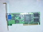 VGA card Trident 3DImage9750 4MB, AGP, low profile (LP), p/n: VCTR8287AGP, OEM (видеоадаптер)