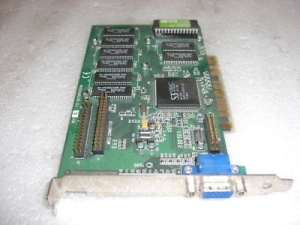 VGA card Diamond ST 3D 2000, PCI, 4MB, S3, p/n: 23033206-405  (видеоадаптер)