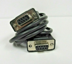 Hewlett-Packard (HP)  DB9F/DB9F Serial Console Cable, 8ft, p/n: 5184-1894, OEM (кабель)